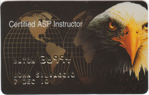 ASP AIC Baton Instructor Identification