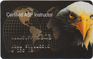 ASP Handcuff Instructor Identification