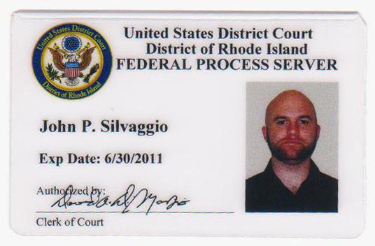 Rhode Island Federal Process Server